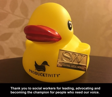 Ducky with SW pin